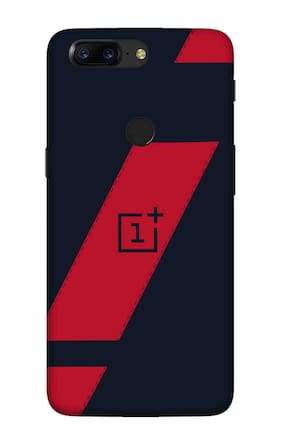 Qrioh Printed Designer Matte Hard Case Back Cover for OnePlus 5T - Printed Grid