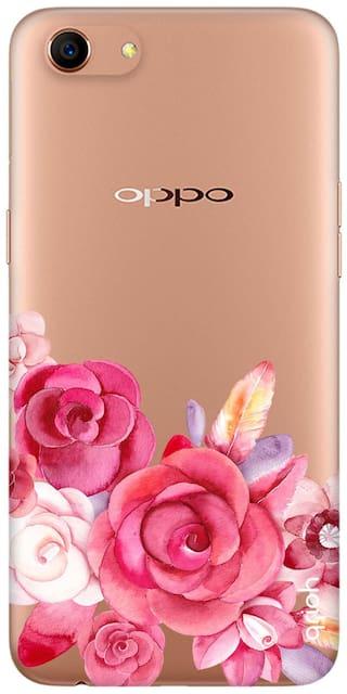 Qrioh Printed Designer  Case Cover for Oppo A83- Bottom Rose