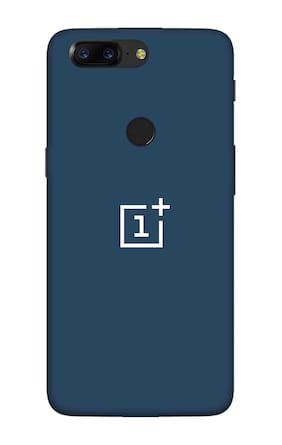 Qrioh Printed Designer Matte Hard Case Back Cover for OnePlus 5T - Blue