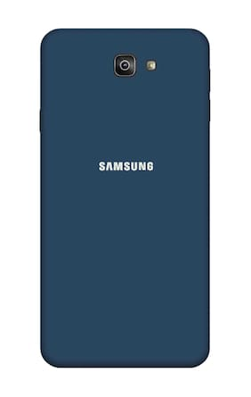 Qrioh Printed Designer Matte Hard Case Back Cover for Samsung Galaxy J7 Prime 2 - Blue