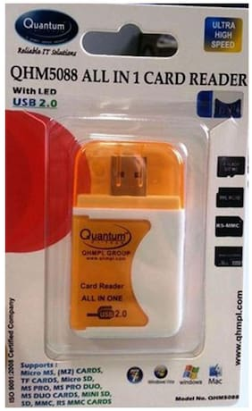Quantum QHM5088 Card Reader (Orange)