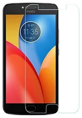Rakulo 9H Impossible Tech Protection/Temper Proof/Flexible Screen protector for Motorola Moto E4 Plus (1 9H Impossible Screen Protector) -Not a Tempered Glass Transparent
