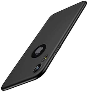 Apple iPhone XR Silicone Back Cover By RAKULO ( Black )