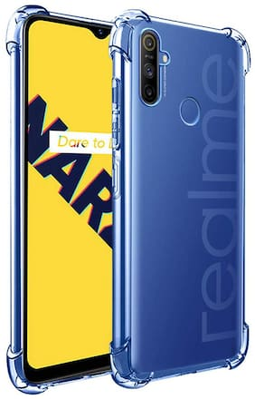 Rakulo Back Cover For Realme Narzo 20a Transparent