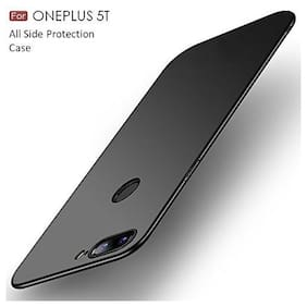 OnePlus 5T Polycarbonate Back Cover By RAKULO ( Black )
