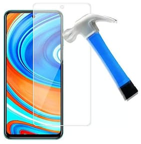 Rakulo Unbreakable Screen Protector for Samsung Galaxy M31S (Except Edges) Unbreakable Flexible Impossible Fiber Film Scratch Screen Guard - Not a Tempered Glass Transparent