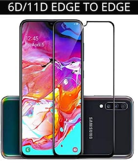 Samsung Galaxy A70s Edge To Edge Tempered Glass By Ravbelli