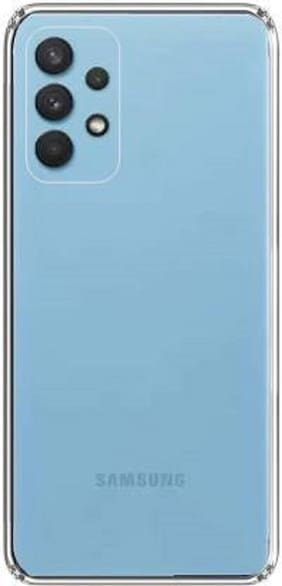 Rawat Back Cover For Samsung Galaxy A32 5G-Transparent