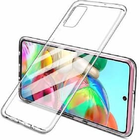 Realme 7 Silicone Back Cover By RAWAT ( Transparent )