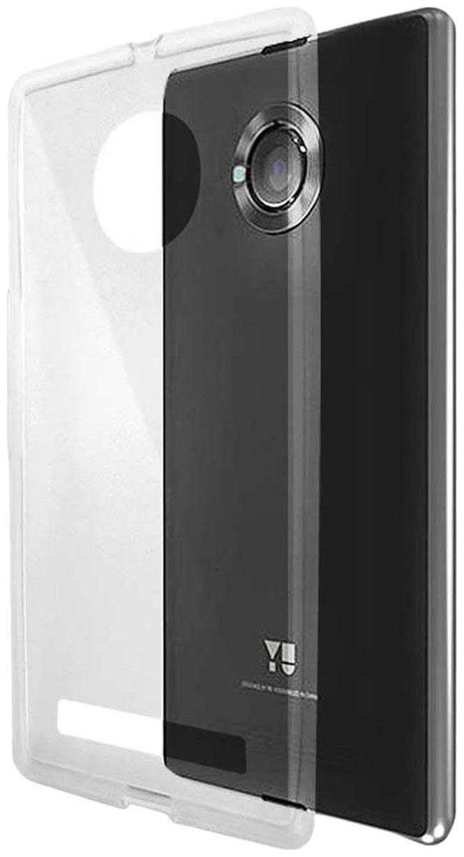 RDcase Back Cover For Micromax YU Yuphoria  Transparent