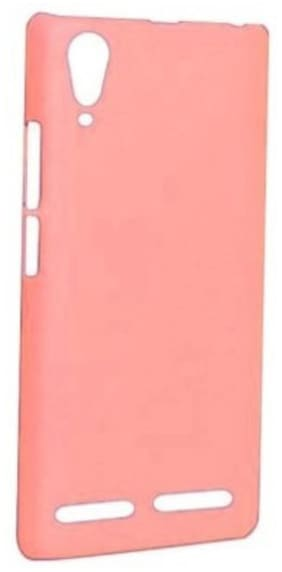 RDcase Back Cover For Lenovo A6000 (Dark Pink)