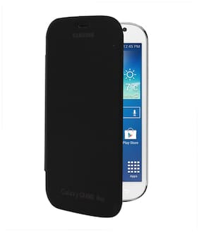 RDcase Flip Cover For Samsung Galaxy Grand Neo (Black)