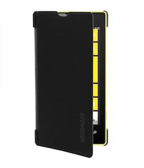 RDcase Flip Cover For Nokia Lumia 520 (Black)