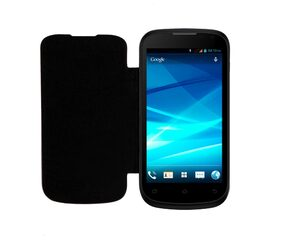 RDcase Flip Cover For Micromax Canvas A93 (Black)