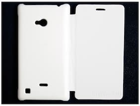 RDcase Flip Cover For Nokia Lumia 720 (White)