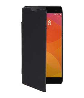 RDcase Flip Cover For Xiaomi Mi4 (Black)