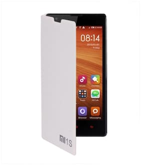RDcase Flip Cover For Xiaomi Redmi 1S (White)