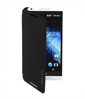 RDcase Flip Cover For HTC Desire 800/816 (Black)