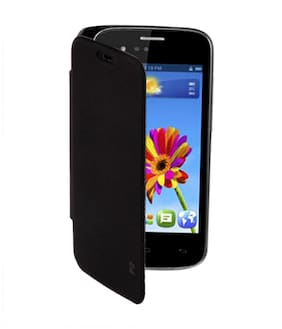 RDcase Flip Cover For Gionee Poineer P2 (Black)