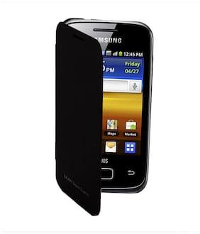 RDcase Flip Cover For Samsung Galaxy Grand Quattro i8552 (Black)