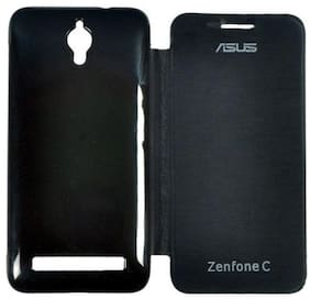 RDcase Flip Cover For Asus Zenfone C (Black)