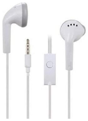 RDS WIRED HEADSET WITH MIC In-ear Wired Headphone ( White )