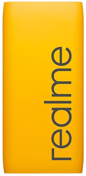 Realme 10000mAH Power Bank (Yellow)