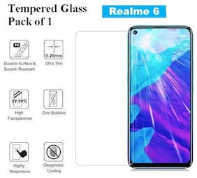 Realme 6  Tempered Glass (Pack of 1)