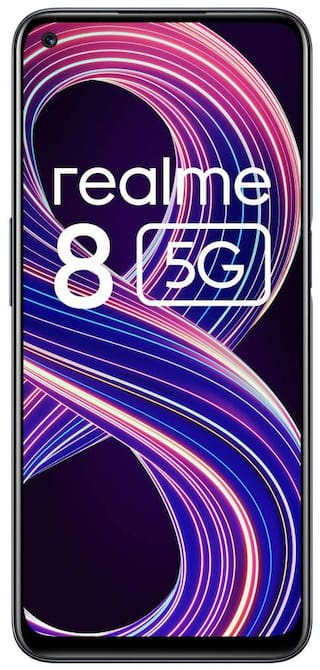 Realme 8 5G 4 GB 64 GB Supersonic Black