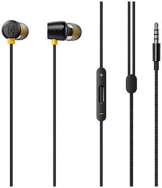 RealMe Buds 2 In-Ear Wired Headphone ( Black )