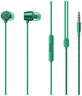 realme Buds 2 In-Ear Wired Headphone ( Green )