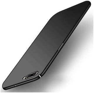 shopyholik Polycarbonate Back Cover For Realme C2 ( Black )