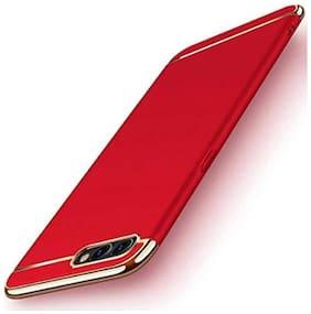 shopyholik Polycarbonate Back Cover For Realme C2 ( Red )