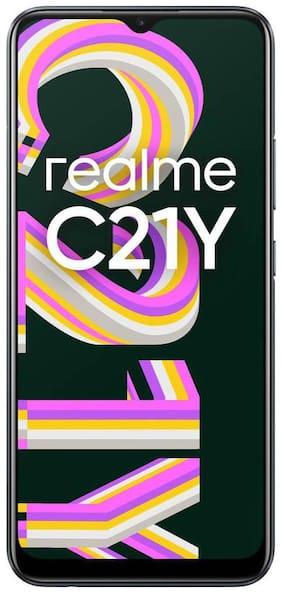 Realme C21Y 4 GB 64 GB Cross Black