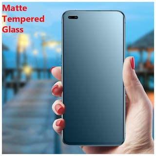 Realme Matte Tempered Glass Guard for Realme 6 Pro