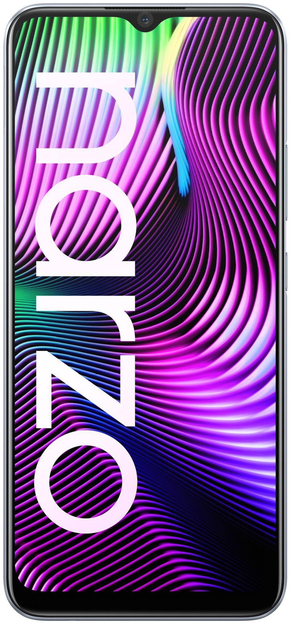Realme Narzo 20 4 GB 128 GB Glory Sliver
