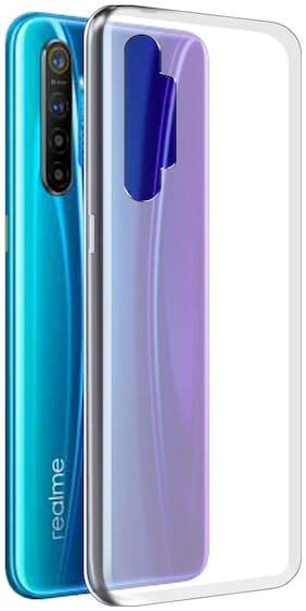 Realme XT Transparent Back Cover In Best Quality(Silicone & Rubber)