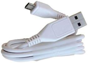 Rebhim Data & Charging Micro USB Cable ( 1.2 m , White )