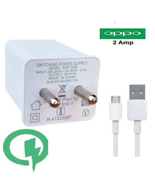 Rebhim Wall Charger For OPPO (White)