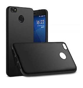 Redmi 4 Black soft silicon back cover (Black)