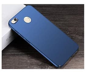 Redmi 4 Blue soft silicon back cover (blue)