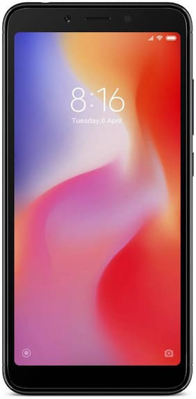 Redmi 6 3 GB 32 GB Black