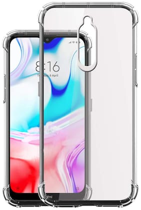 Redmi 8 - HD Clear Bumper Shockproof Corner Back Cover Transparent(Air Cushion Technology)