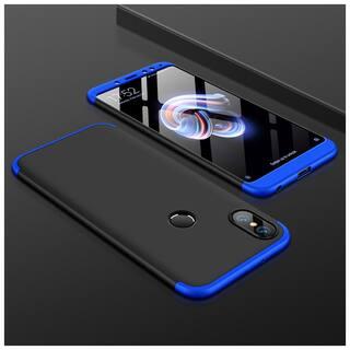 shopyholik Back Cover For Redmi Note 5 Pro ( Blue & Black )