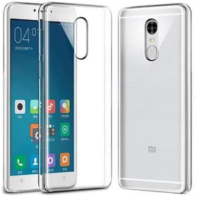 Redmi Note 4 - Silicone Soft Case Back Cover In Transparent For Mi Redmi Note 4