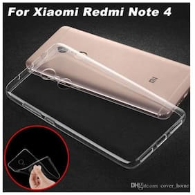 Redmi Note 4 transparent back cover premium quality