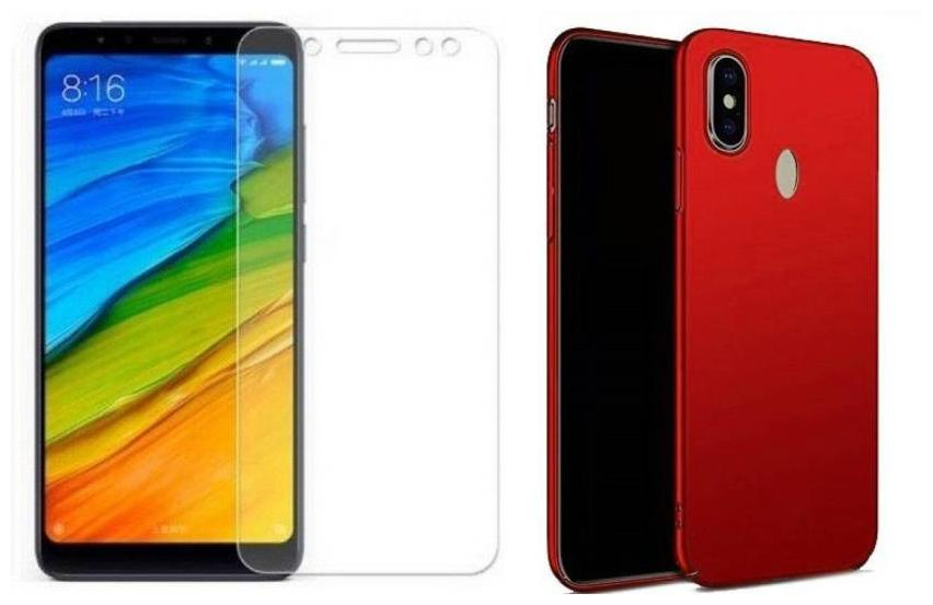 Redmi note 5 pro (Combo Offer) COVER WITH Screen Guard
