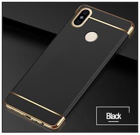 Redmi Note 5 Pro Black Shockproof 3in1 Back Case Cover