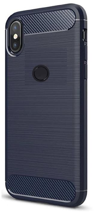 on sale 29628 939c0 Redmi Note 5 Pro Back Cover Hybrid Dual Protection Gunmetal Case for Redmi  Note 5 Pro