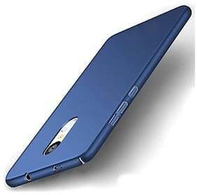 Redmi Note 5 All Sides Protection 360 Degree Sleek Rubberised Matte Hard Case Back Cover For Redmi Note 5 Blue